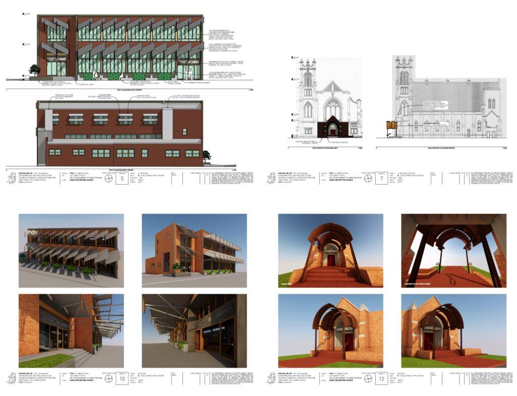 010 church portico community hall solar passive design