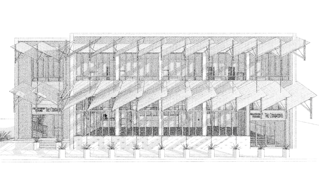 020 sustainable community centre renovation design