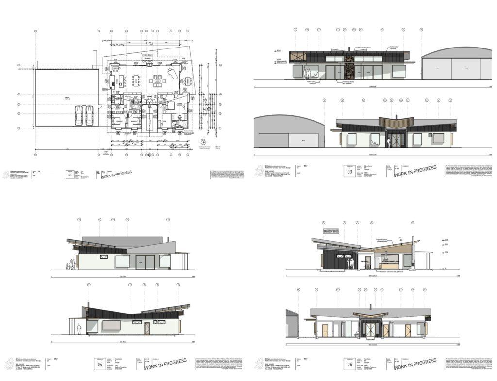 120 large luxury residence and hangar design